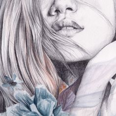 INSPIRATION TO DRAW....Flowers by naranjalidad, via Behance