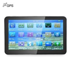 Car GPS Navigation Navigator Touch Screen with Free Maps //Price: $47.31 & FREE Shipping //     #electronics #technology #tech