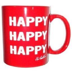 Duck Commander Coffee Mug Red Happy Happy DC-NOV-CMRD