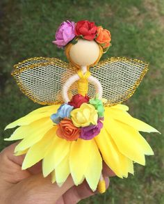 Hey, I found this really awesome Etsy listing at https://www.etsy.com/listing/509647951/flower-fairy-doll-fairy-doll-fairy