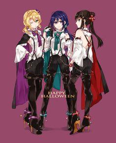 Mari x Kanan x Dia Anime Girl Cute, Anime Art Girl, Anime Love, Friend Anime, Anime Best Friends, Manga Kawaii, Kawaii Anime Girl, Dia Kurosawa, Mari Ohara