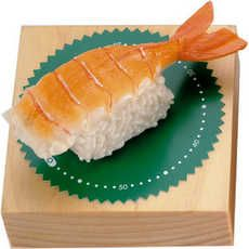This Inedible Sushi Sculpture Doubles as Timekeeper #kitchen trendhunter.com