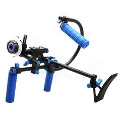 CamSmart® Universal film vidéo professionnel DSLR Kit caméra CAGE RIG + Top Handle + 15mm en aluminium tige bloque plaque + Follow Focus + Matte Box pour DSLR/DV caméscope comme le Canon 500D 550 60 D 50 D 40 D 5D, 5D 2 5 3 1Ds, Nikon D700 D300 D90 D7000 D5000 D3100 D3000, Fuji, Olympus, Pentax SLR DSLR et ainsi de suite (CAGE SET F) CamSmart http://www.amazon.fr/dp/B00A1996ZU/ref=cm_sw_r_pi_dp_BXOJvb0JP863S