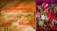 Do you spend too much each year on Christmas shopping? Here are some quick, smart Christmas shopping strategies so you won't be taken advantage of!