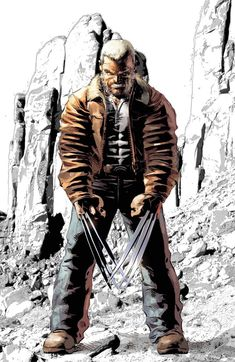 OLD MAN LOGAN #50 RICC 2018 EXCLUSIVE VIRGIN VARIANT
