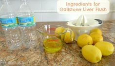 Gallstone Flush & Liver Detox – Recipe & Cleanse Info