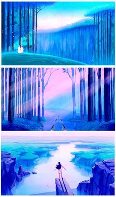 Pocahontas scenery