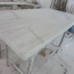 High Quality Corian Rain Cloud Solid Surface Sheet, Grey Veining Solid Surface .