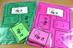 Flip It Math Games | Tunstall's Teaching Tidbits | Bloglovin'