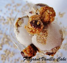 Raw Oatmeal Cookie Dough Ice Cream