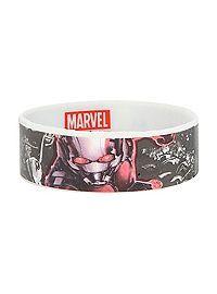 HOTTOPIC.COM - Marvel Ant-Man Logo Rubber Bracelet