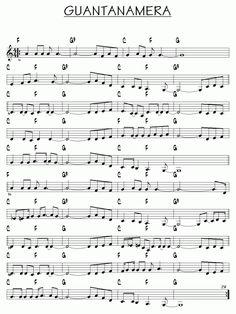 épinglé par ❃❀CM❁✿Partition Guantanamera piano guitare Plus Accordion Sheet Music, Jazz Sheet Music, Saxophone Sheet Music, Music Sheets, Easy Guitar Songs, Piano Songs, Piano Music, Music Music, Music Guitar