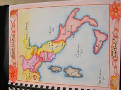Waldorf ~ 7th grade ~ Renaissance and Reformation ~ Map of Renaissance Italy