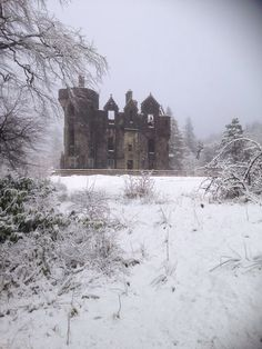 Dunans Castle, ancestral seat of Clan Fletcher, Argyll, Scotland