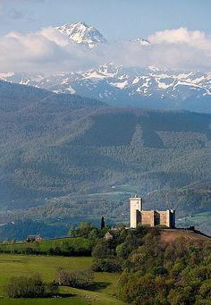 Le Chateau de Mauvezin Hautes-Pyrenees, France by jpazam, via Flickr