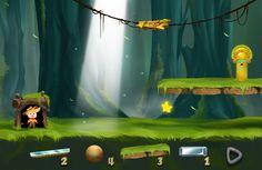 """Lighting Boy""--app game,Kizipad on Behance"