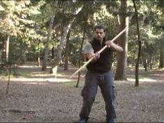 Como defenderte con un PALO (Han Bo), Defensa Personal, Armas del Ninjutsu - YouTube