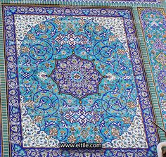 #Handmade_tiles_for_mosque_wall