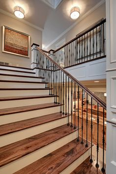 """2013 Parade of Homes """"Dream Home"""" Edina, MN - traditional - staircase - minneapolis - Spacecrafting / Architectural Photography"""