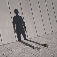 im not there: a photographer (pol úbeda hervàs) captures his own shadow