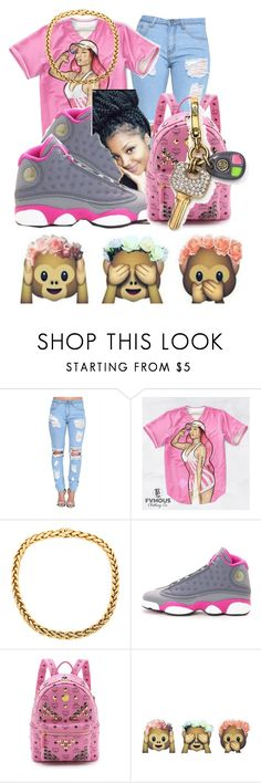 you already know wussuh✊ by highoffkaay on Polyvore featuring Nicki Minaj, MCM and NIKE