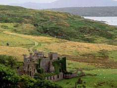 "pagewoman: ""Clifden Castle, County Galway, Ireland """