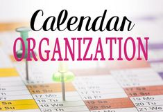 40 Weeks 1 Whole House: Week 2 - Planners & Calendars | Calendar organization is all about finding that ONE calendar that works for you and putting ALL the school dates, flyers, doctor appointments, birthdays and holidays on that calendar TODAY.