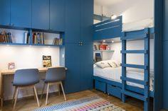 Chambre de garçon Baby Bedroom, Girls Bedroom, Wardrobe Cabinet Bedroom, Boy Room, Kids Room, Monster Room, Kids House, Bunk Beds, Tall Cabinet Storage