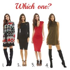 Which one would you wear to the Christmas party?