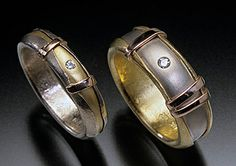 andy cooperman rings | Various alloys, colors and karats of gold. 18k yellow, 14k white,