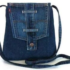 Items similar to Recycled jeans tote purse,cross body bag ,school messenger,shoulder bag with top zipper on Etsy Denim Crafts, Popular Handbags, Denim Shoulder Bags, Recycle Jeans, Denim Bag, Prada Bag, Fabric Bags, Drawstring Backpack, Purses