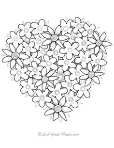 valentine coloring pages – Bing Images Make your world more colorful with free printable coloring pages from italks. Our free coloring pages for adults and kids. Heart Coloring Pages, Flower Coloring Pages, Mandala Coloring, Coloring For Kids, Coloring Pages For Kids, Coloring Sheets, Coloring Books, Printable Valentines Coloring Pages, Printable Coloring Pages