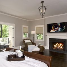 Fireplace+tv Design, Pictures, Remodel, Decor and Ideas - page 4