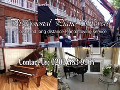Professional Piano Movers | London Piano Mover offers fast safe and on time piano moving & Pianos numériques YAMAHA P115 BLANC + STAND + PEDALIER Pianos ...