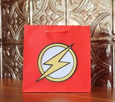 The Flash Party Gift Bags 10 by TheWrapUp on Etsy