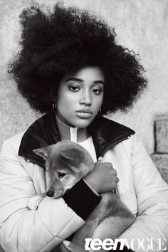 """It was when I was 12 and I got cast in The Hunger Games, and people called me the N-word and said that the death of my character, Rue, would be less sad because I was black. That was the first moment I realized being black was such a crucial part of my identity in terms of the way that I was perceived and how it would affect any line of work that I wanted to pursue."" - Amandla Stenberg for Teen Vogue"