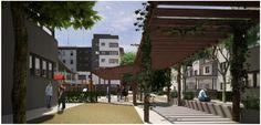 Image result for calles peatonales cubiertas