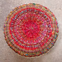 Who knew how beautiful plastic wrapped around tires could look! Designed by Anu Tandon from The Retyrement Plan #reuse #recycle #upcycle