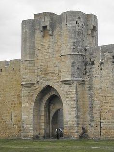Remparts d'Aigues-Mortes. Languedoc-Roussillon