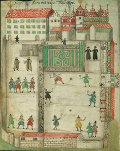 illustration allemande : Hans Carl Erlenwein, 1615, Liber amicorum, Baltimore, 17e siècle, architecture, 1610s
