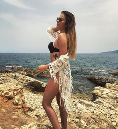 https://www.instagram.com/p/BGMu76gq-41/ @rosaliette in our bikini Alison #Madora #black #bikini #swimsuit #fashionblogger #bestylish