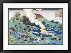 Traditional Japanese art Title: Fishermen Drag a Net Upstream. Artist: Katsushika Hokusai Type: Fine-Art Print Paper Size: x Traditional Japanese Art, Katsushika Hokusai, Print Paper, Paper Size, Fine Art Prints, Type, Artist, Painting, Printer Paper