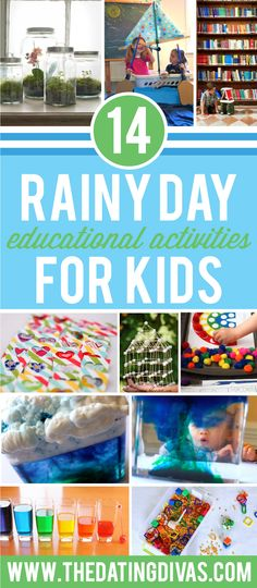 Rainy Day Educational Activities for Kids!