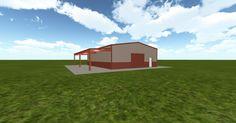 3D #architecture via @themuellerinc http://ift.tt/2uRjU53 #barn #workshop #greenhouse #garage #DIY