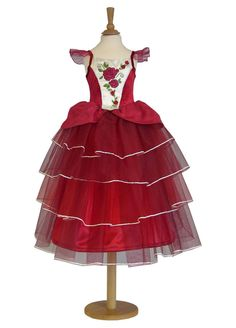 Limited Edition Sparkle Rose Princess Dress by Travis Dress Up By Design