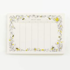 BUSY BEE PLANNER – IN KIND