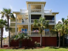 Isle Of Palms House Rental: Ocean's Song * Gorgeous 5br 6ba Pool Elevator * Only 1 Blk To Beach * | HomeAway