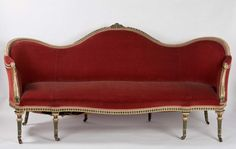 Made en suite with a set of ten chairs, this settee is one of a pair made by Thomas Chippendale in 1775.