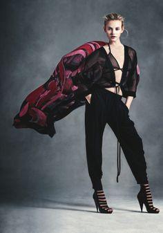 Fei Fei Sun, Ginta Lapina by Andreas Sjödin for Neiman Marcus Spring 2014