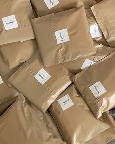 Scarf Packaging, Brand Packaging, Box Packaging, Label Design, Branding Design, Clothing Packaging, Pretty Packaging, Oui Oui, Packaging Design Inspiration